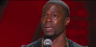 Kevin Hart Crying