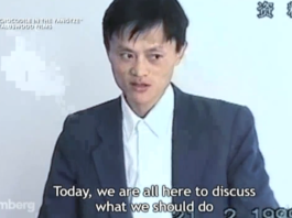Jack Ma inspiring original speech
