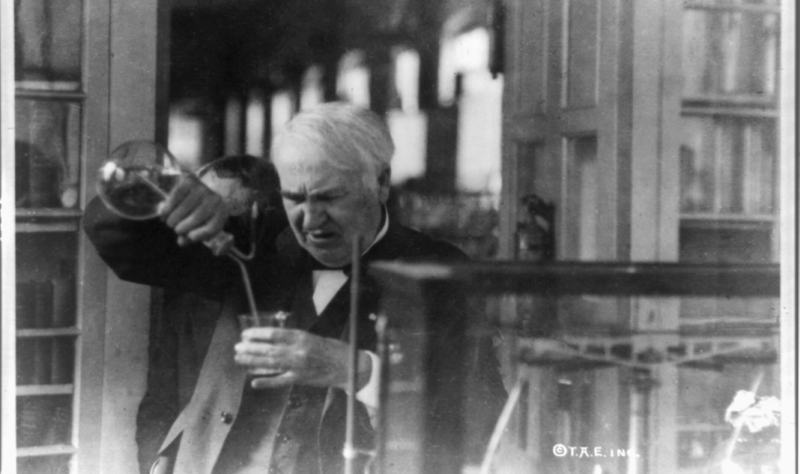 thomas edison inspiration