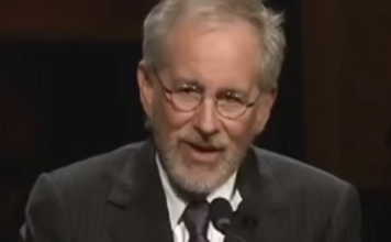 Steven Spielberg whisper speech